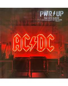 AC/DC 'PWR/UP' 2020 Columbia Records Vinyl LP New Sealed Copy 180g