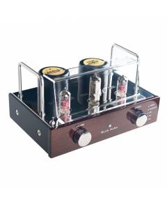 Blue Aura v40 Hybrid Tube Amplifier + PS40 SE Air Transformer Speakers, High Gloss Walnut.