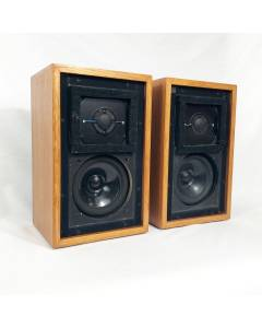 Chartwell LS3/5a Speakers. RARE 15 ohm 1976 Matched Pair Excellent Condition!!