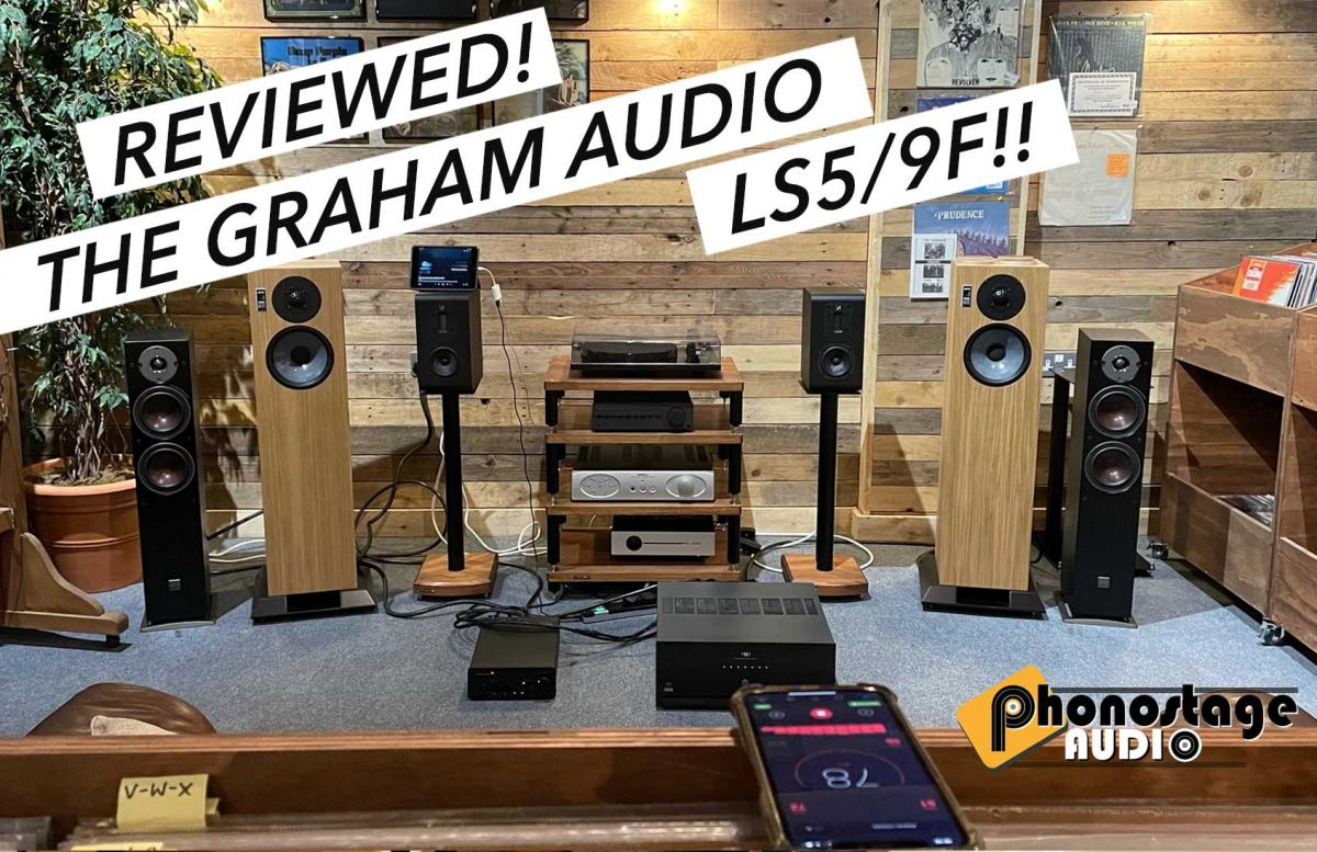The Graham Audio LS5/9f Loudspeakers. Check Out Our Video Review Here!!