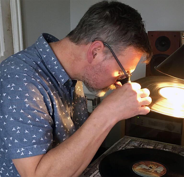 Tony Grading Vinyl Record