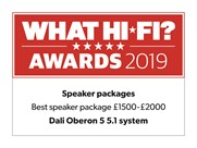 Dali Oberon 5 What Hifi 2019 Speakers