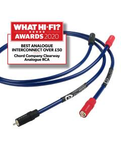 Chord Clearway RCA Interconnects (pair)