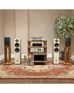 Ex-Demo Dali Oberon 5 Floor Standing Speakers in Light Oak, Hardly Used!