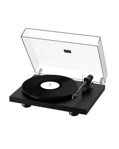 The Pro-Ject Debut Carbon EVO Turntable Satin Black Open Box Item!
