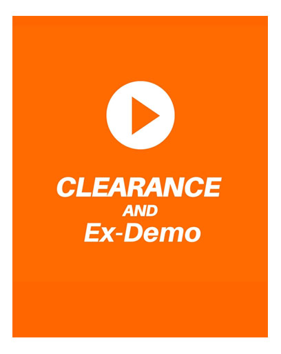 Clearance and Ex-Demo