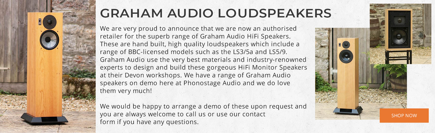 Graham Audio Showcase Banner