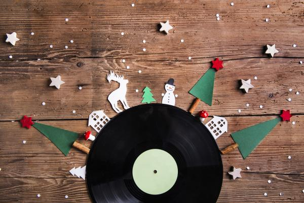 Vinyl for the vintage lover this Christmas