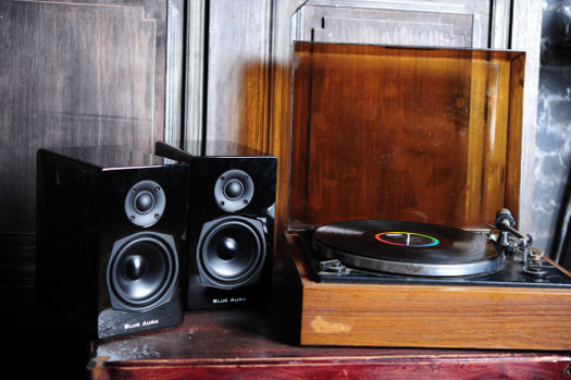 Blue Aura PS40 Speakers